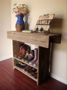 Amazing Uses For Old Pallets – 32 Pics the doors, back doors, mud rooms, front doors, shoe storage, shoe racks, farm houses, farm house tables, barn wood