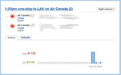 Yapta Tracking   How To Track Flight Prices And Get Ticket Refunds Using Yapta