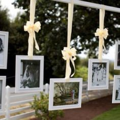 Frames wedding decor