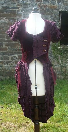 Awesome Steampunk jacket for D.