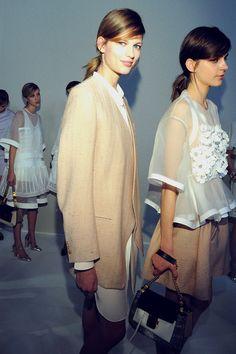 Chloe, backstage models, fashion weeks, 2013, style, blous, chloé spring, chloe, photo galleries, fashion spring