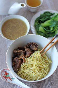 Dry Beef Noodle Soup - Ang Sarap @Angela Gilbert Sarap