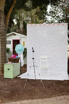 DIY photo booth! raquelleal.com