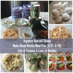 Tons of make ahead and freezer meals plus mason jar salads, perfect for busy days