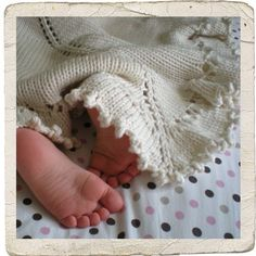 Heirloom Stitches Purl Dreams Baby Blanket Knitting Pattern