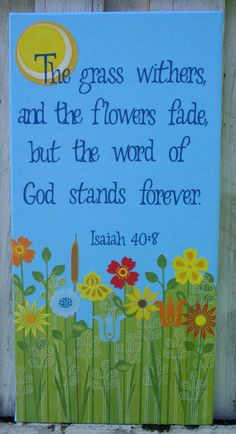 The word of God stands forever