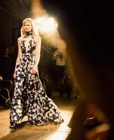 One of the prettiest dresses of this past NYFW