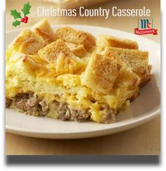 Country Christmas Breakfast Casserole