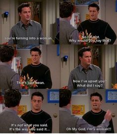 Joey and Chandler:)