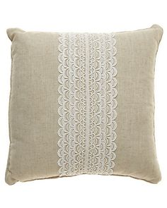 """Some of you have to get in on this: """"Lace"""" Decorative Pillow"""