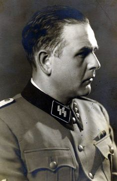 Amon Goeth. One of the most bestial and corrupt men produced by the Nazi state, Goeth's excesses were notorious even among a culture of excess. As overseer of a forced labor camp at Płaszów, he routinely tortured and murdered inmates, amassing a fortune in stolen valuables. He was found guilty by a post war court of the deaths of tens of thousands and hanged (three times;  twice the rope length was miscalculated) in 1946. Ralph Fiennes' character in the film Schindler's List was based on Goeth.