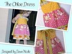 Our First Guest Post   The Chloe Dress Pattern By Dawn