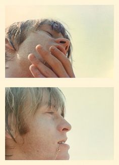 Brian Jones, Florida spring of 1965  via Never-Before-Seen Candid Photos of The Rolling Stones, 1965