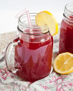 Raspberry Cordial from Anne of Green Gables | Neighborfoodblog.com