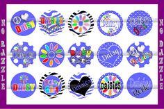 Daisy Girl Scout BottleCap Images