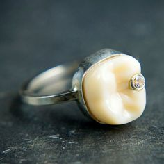 Cavity ring-- @WTFPinterest .com This adds a certain new meaning to tooth fairy...