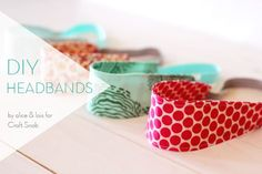 #DIY Headbands by @Jamie Wise Wise Wise Dorobek {C.R.A.F.T.} Snob | Learn how to make a headband using fabric and elastic from Joann.com