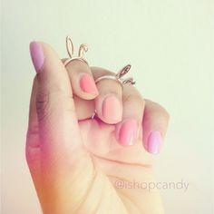 bunny rings!