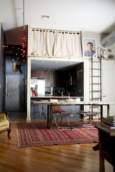 small space living kitchen dining sleeping hall clever smart