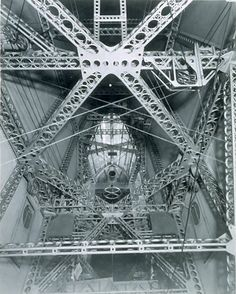 USS Macon Interior:  Interior