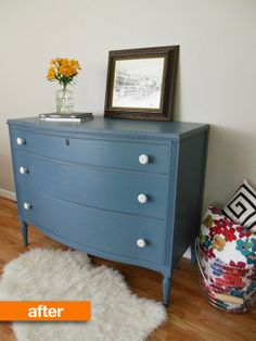 Before & After: A Dated Dresser Gets a Facelift | Apartment Therapy