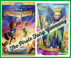 Win Disney's Pirate Fairy DVD & Tinkerbell Doll (Ends 4/21) | Mommy's Busy, Go Ask Daddy #PirateFairy