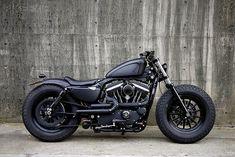 Harley Davidson vintage looking motorcycle