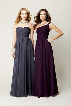 Kennedy Blue Bridesmaid Dresses Julia and Emma