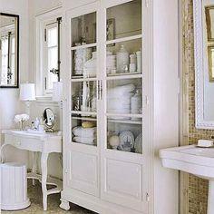 armoir, bathroom storage, storage cabinets, white, bathrooms, bathroom designs, master bath, bathroom cabinets, design bathroom