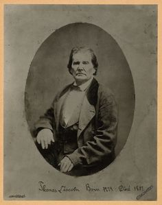 Thomas Lincoln, father of President Abraham Lincoln