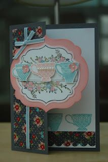 Julie's Japes - An Independent Stampin' Up! Demonstrator in the UK: Another Grey themed card