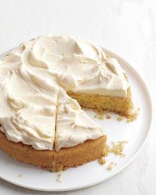 Zucchini-Almond Cake