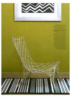 CAPPELLINI  Knotted Chair by Marcel Wanders on Maison Francaise