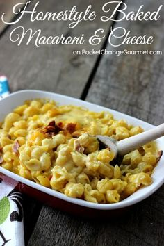 Homestyle Baked Mac