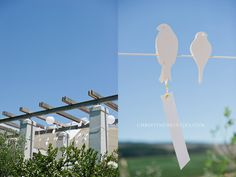 pretti paper, bird hang, hang decor, paper birds, paper thing
