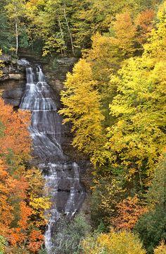 Chapel Falls, Upper Peninsula, Michigan (Not far from Pictured Rocks)