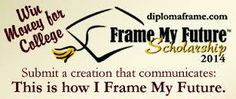 $1,000 Frame My Future Scholarship (5 available) for high school seniors and older. Deadline March 5