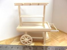 Miniature Hand Cart by minibuilder on Etsy, $45.00