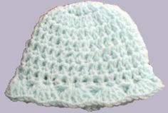 link for crochet pattern for a preemie hat to make for charity; pattern by Laura Reavis