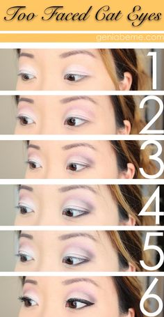 Too Faced Cat Eyes Tutorial- Makeup Wars | Geniabeme Beauty Blog