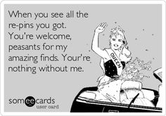 hahaha youre amazing ecards, autumn, funni, true, funny quotes, humor, birds, bakers, peasant