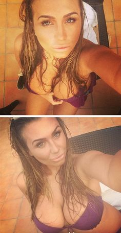 """Lauren Goodger shocks with cleavage bikini selfies  While #LaurenGoodger is facing #sextape controversy it doesn't stop the busty celeb from showing off her """"goods"""" online... http://www.sextapestabloid.com/news/view/id/588-lauren_goodger_shocks_with_cleavage_bikini"""