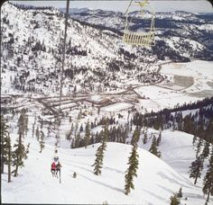 The original KT-22 lift was a double chair that brought athletes and spectators to el. 8,200'