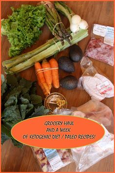 Grocery Haul and a week of recipes for the Ketogenic Diet (Paleo too) by The Nourished Caveman