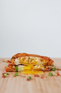 Egg In A Hole Breakfast Grilled Cheese | bsinthekitchen.com #breakfast #grilledcheese #bsinthekitchen