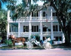 Charleston, SC. is such a lovely town with tons of southern charm. You can take a carriage ride thru the historic part of town to see the antebellum houses and there are still some plantation homes open to the public.  It's like stepping into the past.