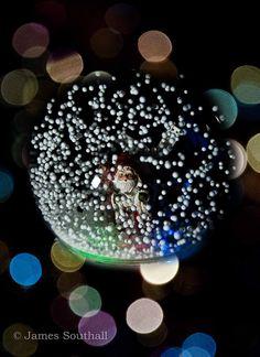 snow globes ...