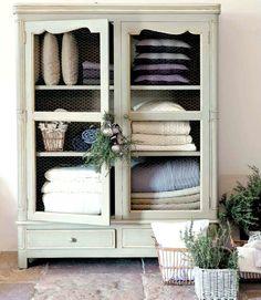 wardrobe and decorations