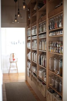 larder: but where's the tins of toms and baked beans?