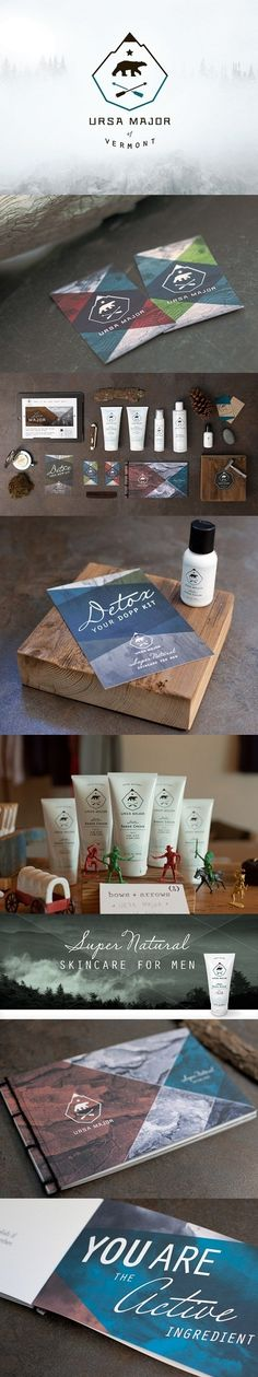 Ursa Major by Ptarmak #identity #packaging #branding #marketing PD